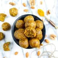 Turmeric & Ginger Energy Balls