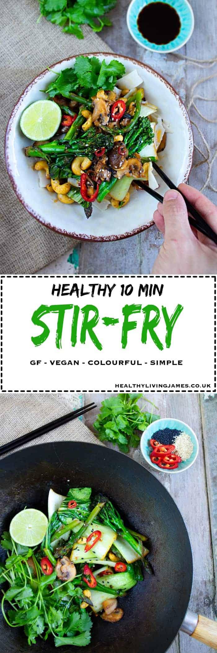 Healthy 10 Min Stir-Fry