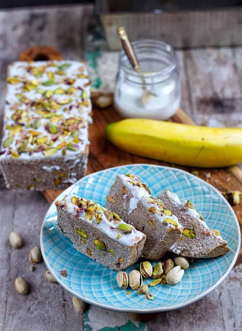 banana loaf front
