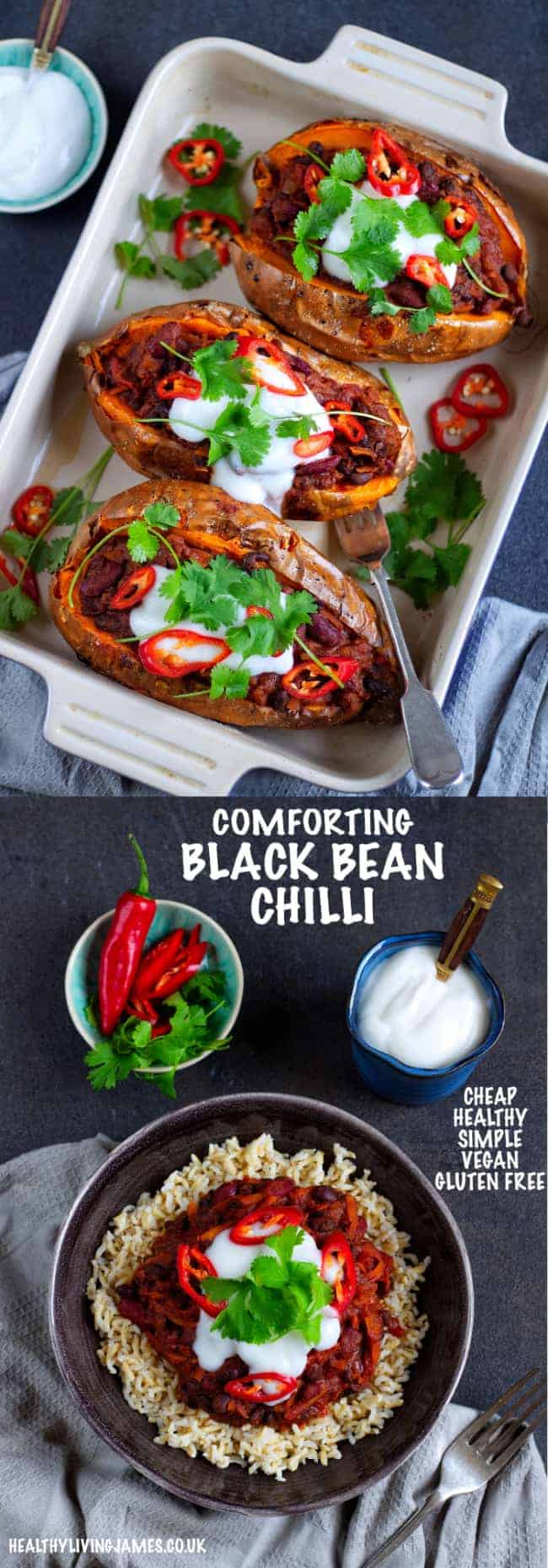 Comforting Black Bean Chilli Pinterest 2 Pinterest
