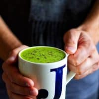 Pea & Ginger Soup Front
