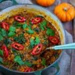 Pumpkin & Quinoa Curry
