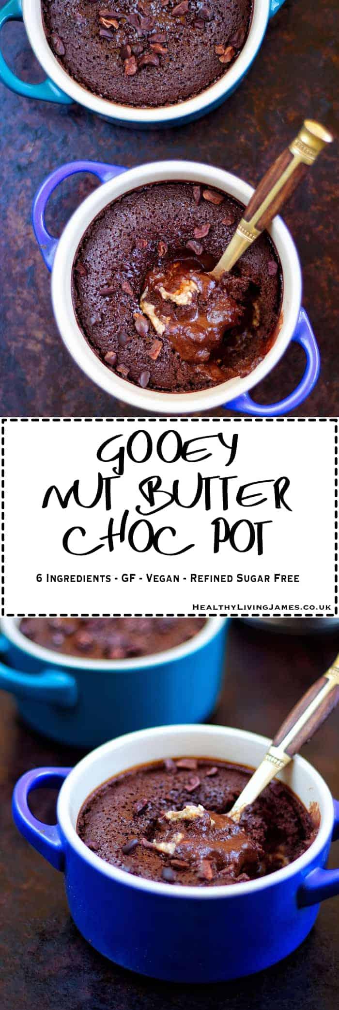 Nut Butter Choc Pot Pinterest