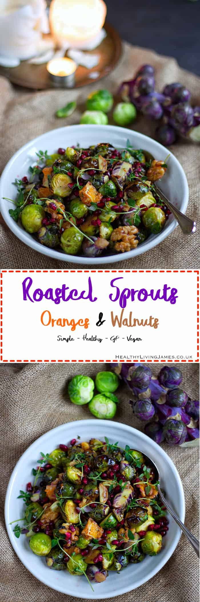 Roasted Sprouts Pinterest