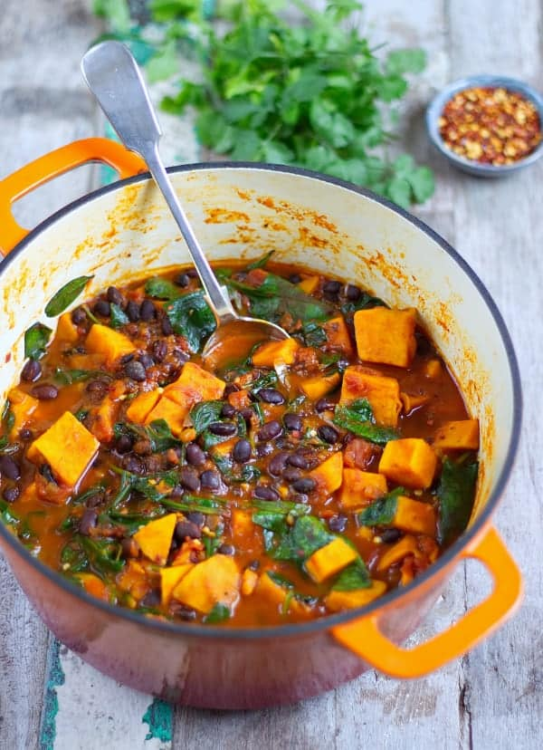 Sweet Potato Black Bean Stew Gluten Free Vegan And 1