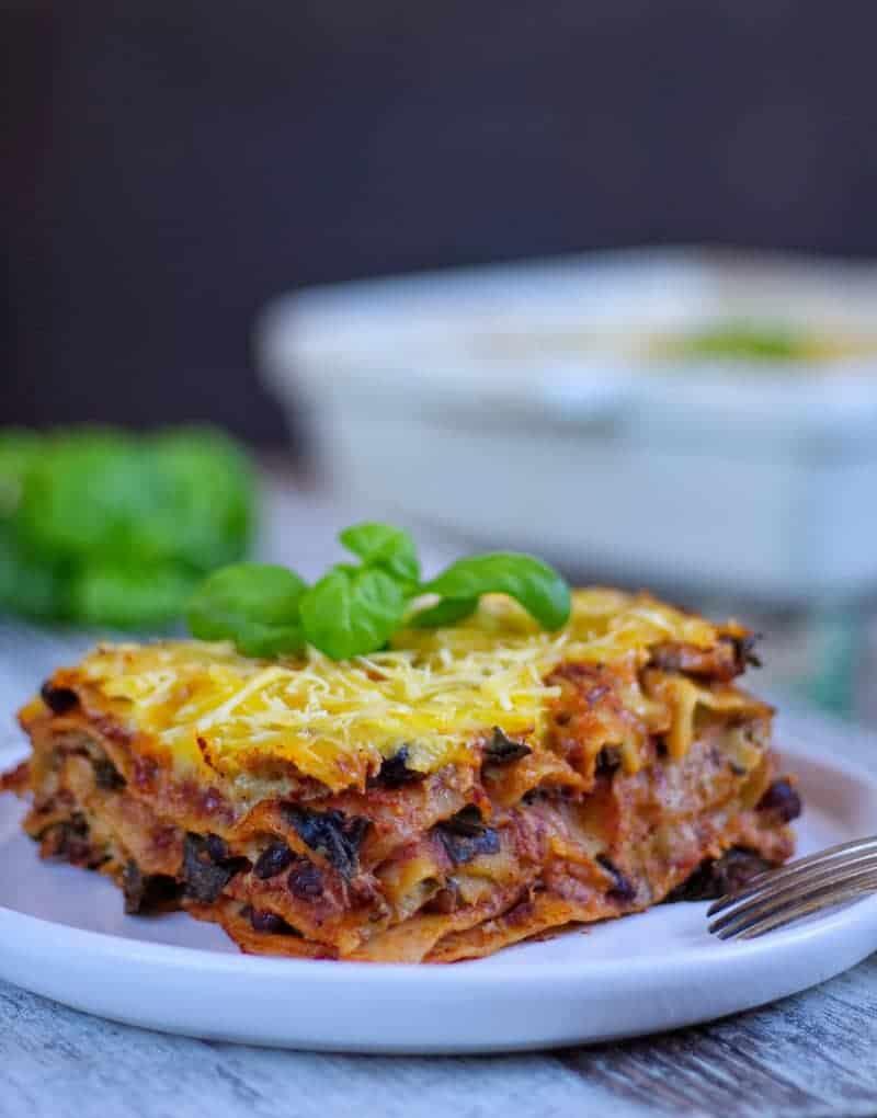 lasagne front
