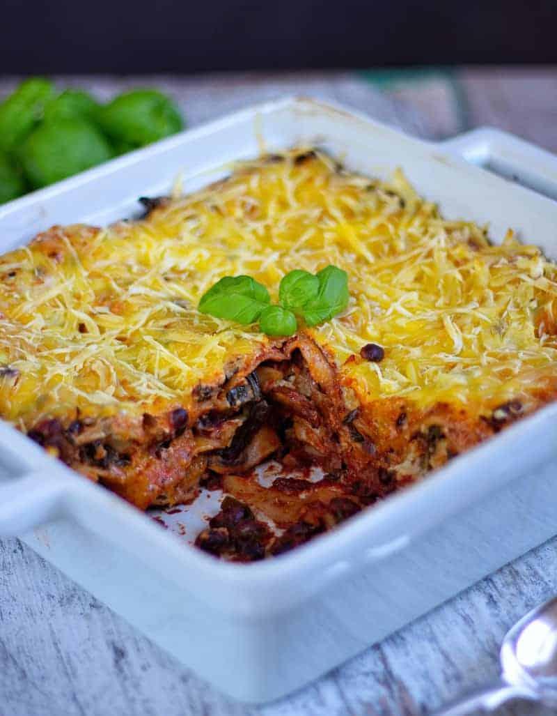 lasagne oven dish