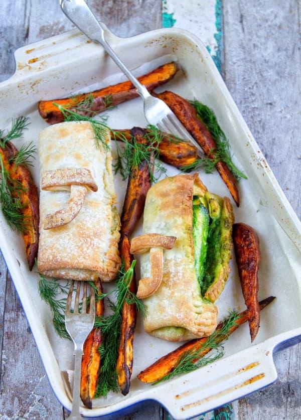 Gluten Free Salmon Pastry