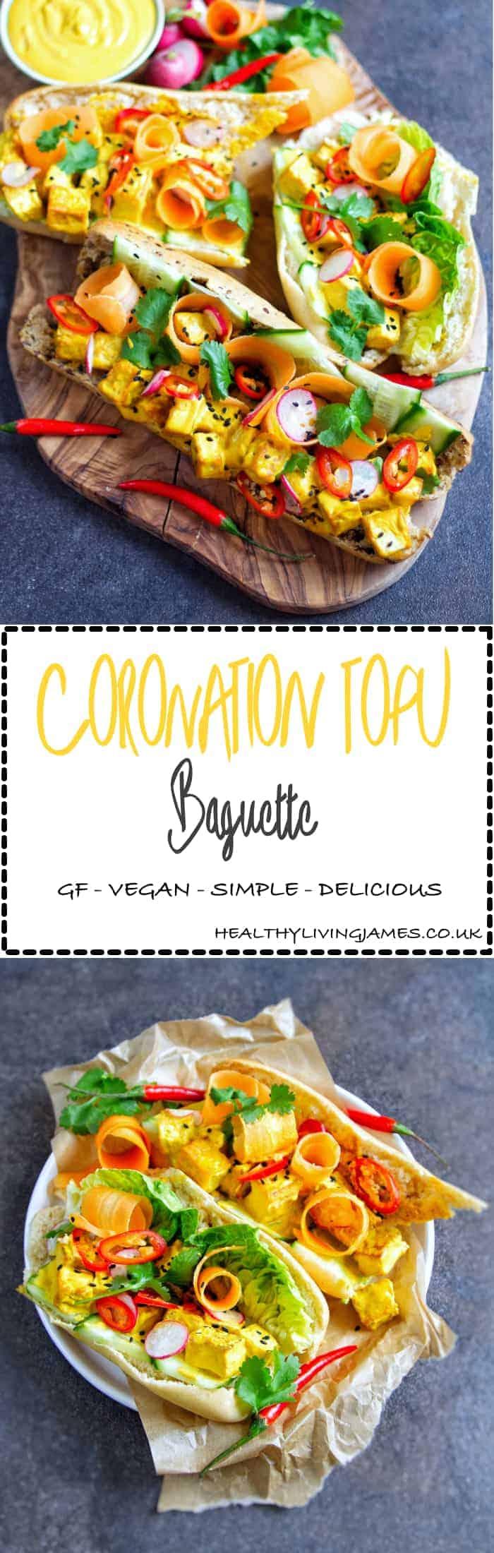 Coronation Tofu Baguette