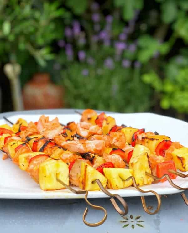 Summer Salmon Kebabs Front