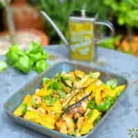 BBQ Courgette & Mango Salad