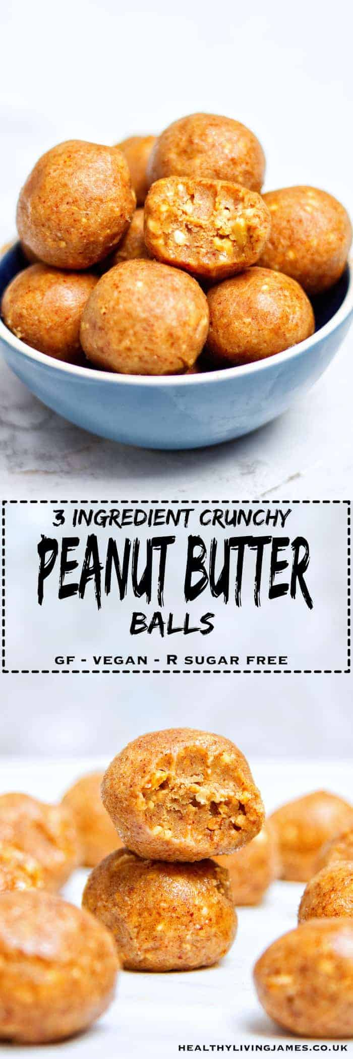Crunchy Peanut Butter Balls - Pinterest