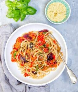 Roasted Pepper & Tomato Pasta