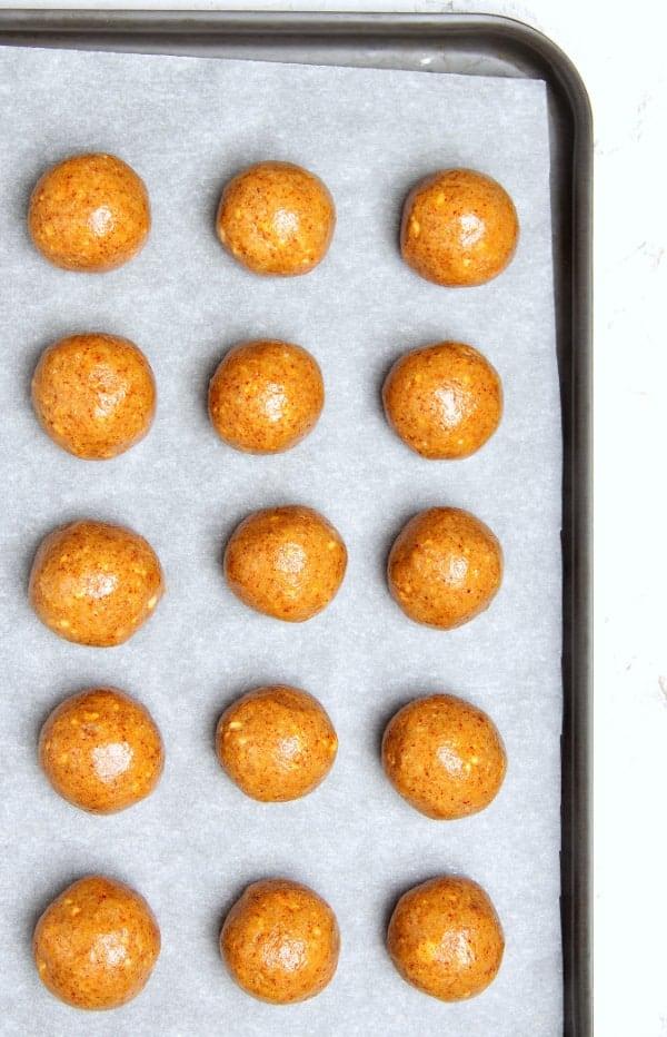 Crunchy Peanut Butter Balls