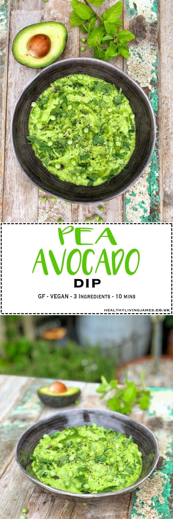 Pea & Avocado Dip