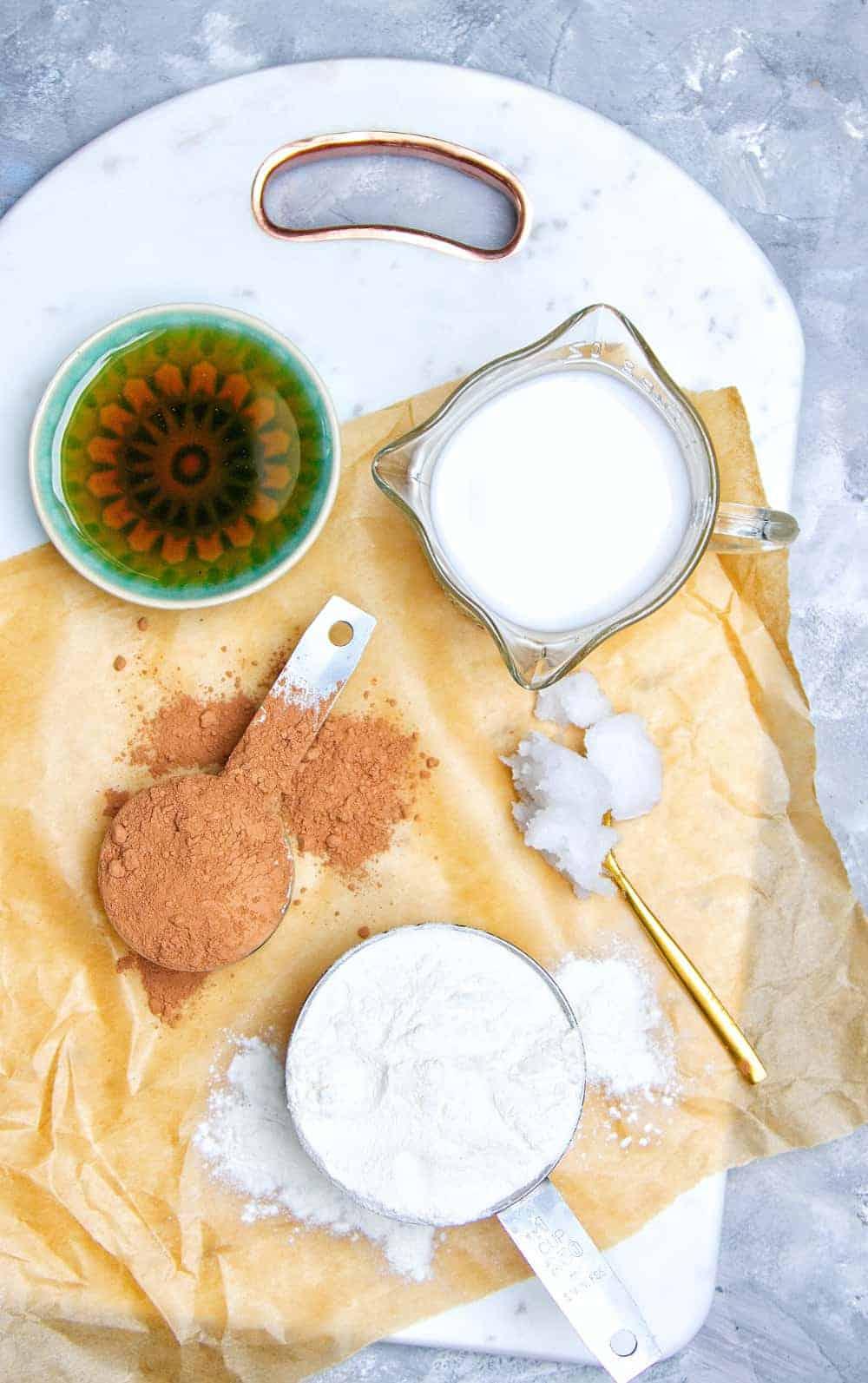 5 Ingredient Gluten Free Doughnut Ingredients
