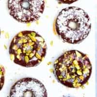 5 Ingredient Gluten Free Doughnut Lined