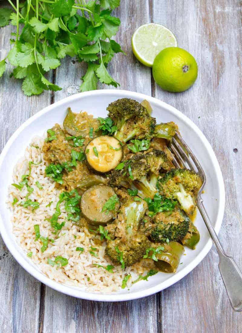 Veggie Thai Green Curry