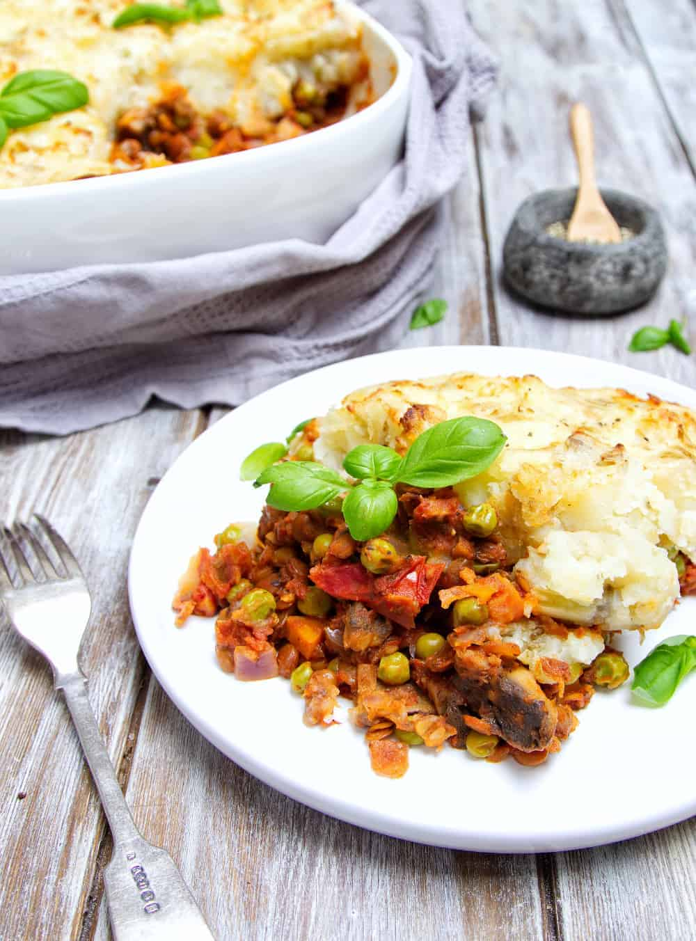 Lentil Shepherds Pie front