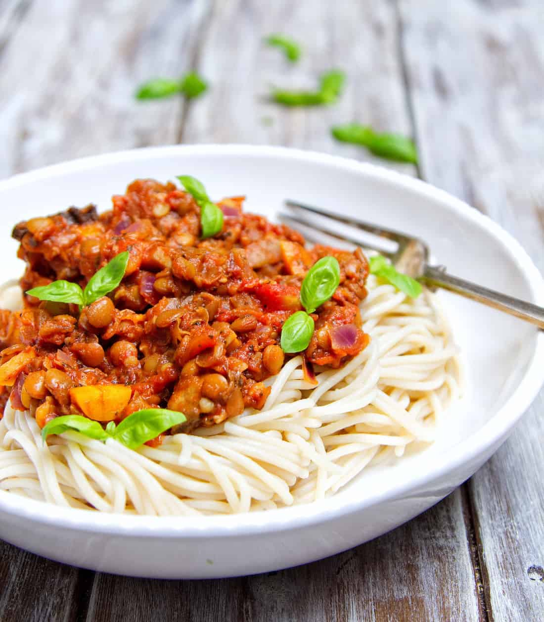 Speedy Lentil Bolognese Close