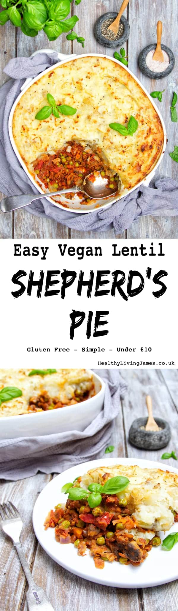Vegan Lentil Shepherd's Pie Pinterest
