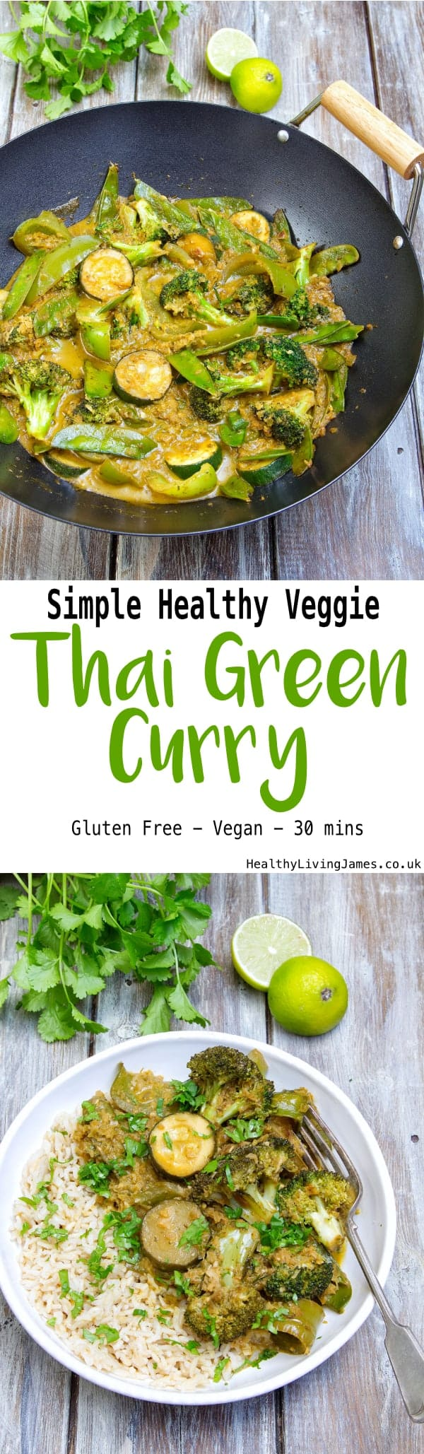 Veggie Thai Green Curry Pinterest