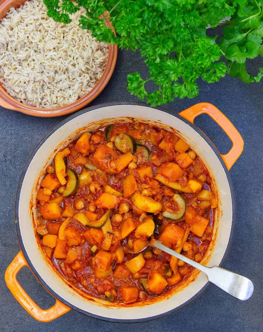 Butternut Squash Tagine Top Pot