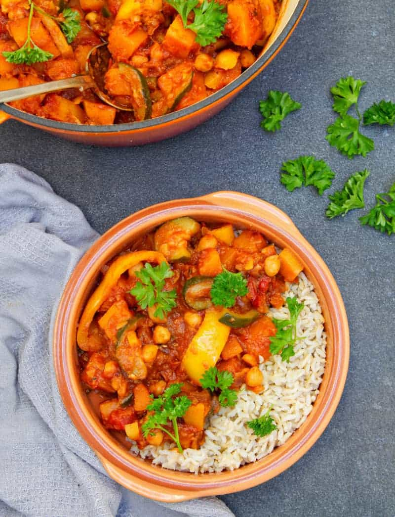 Butternut Squash Tagine bowl