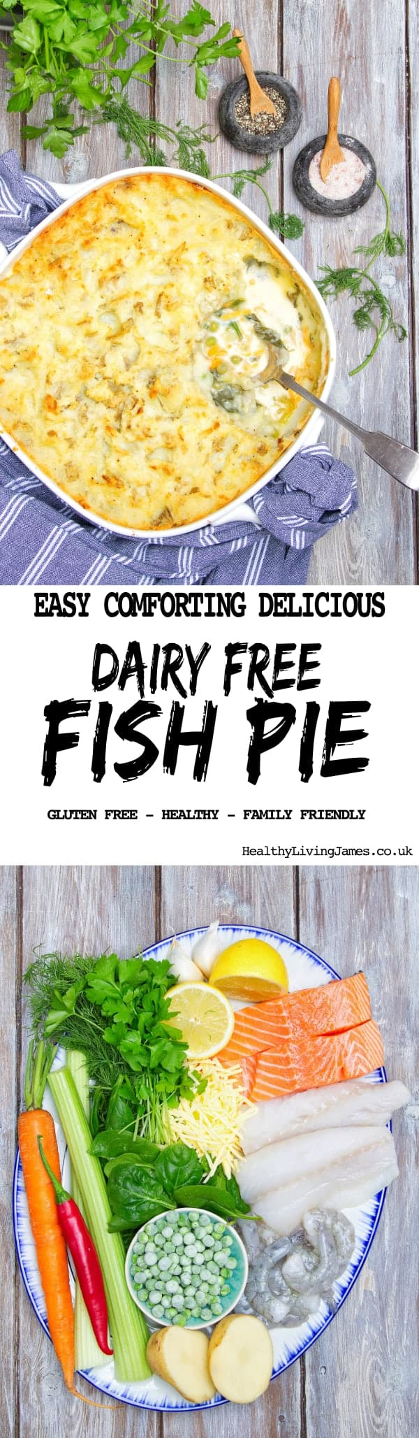 Dairy Free Fish Pie Pin