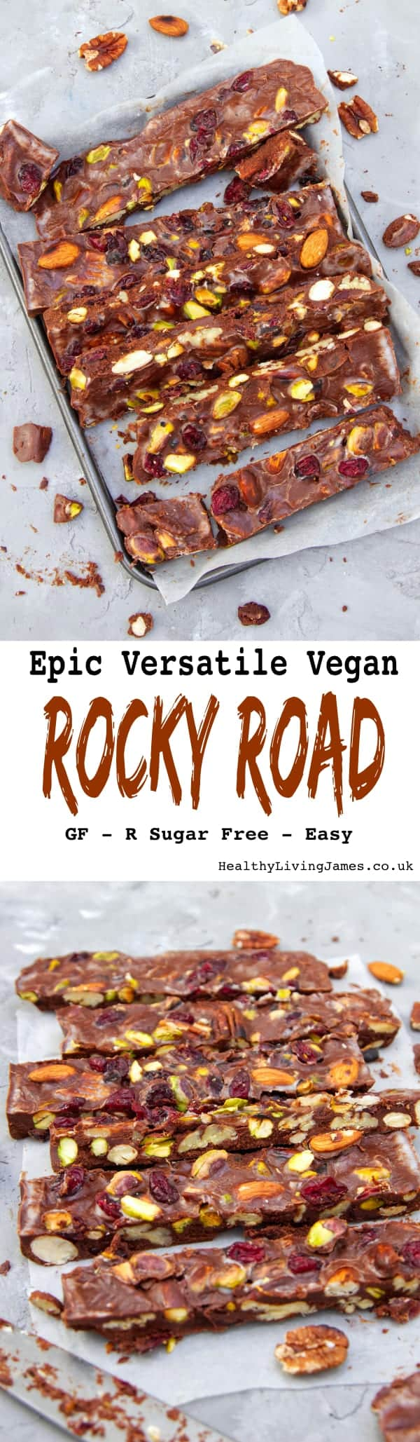 Epic Vegan Rocky Road Pin