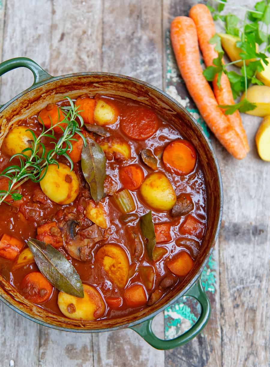 Hearty Potato Stew Top