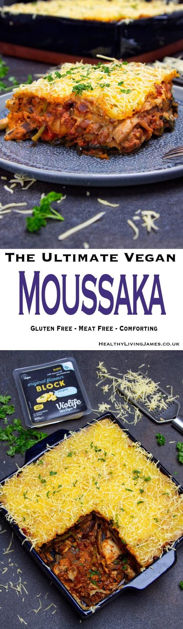 Ultimate Vegan Moussaka Pin