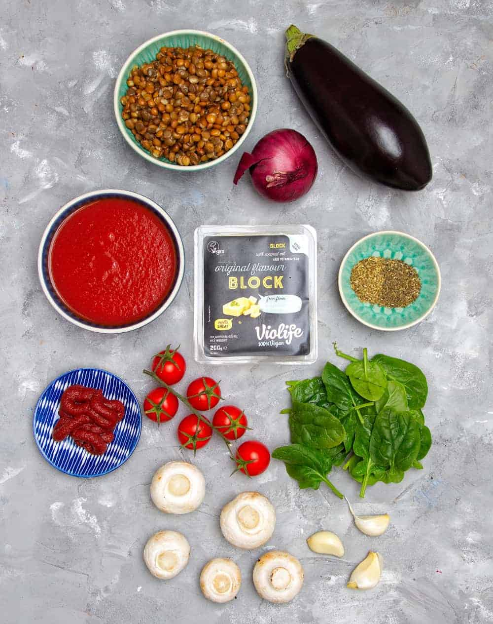 Ultimate Vegan Moussaka Sauce Ingredients