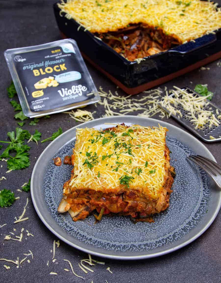 Ultimate Vegan Moussaka front top