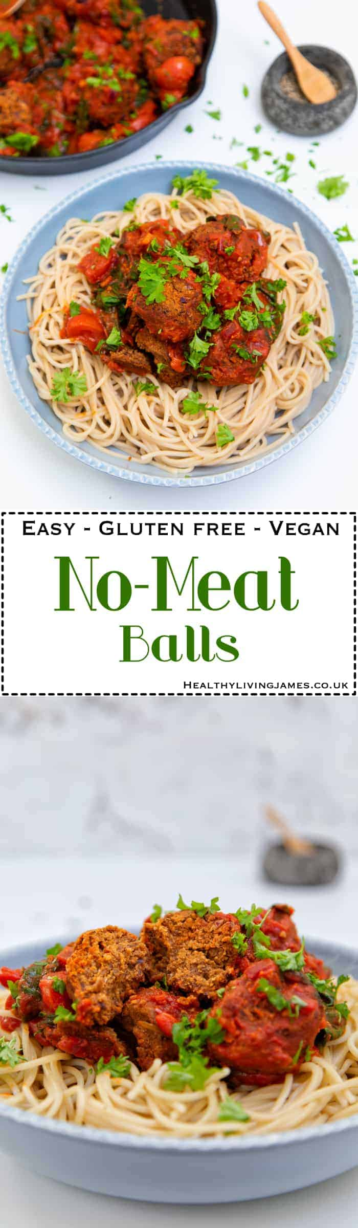 No-Meat Balls Pinterest