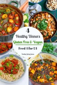 4 dinners feed 4 for £4
