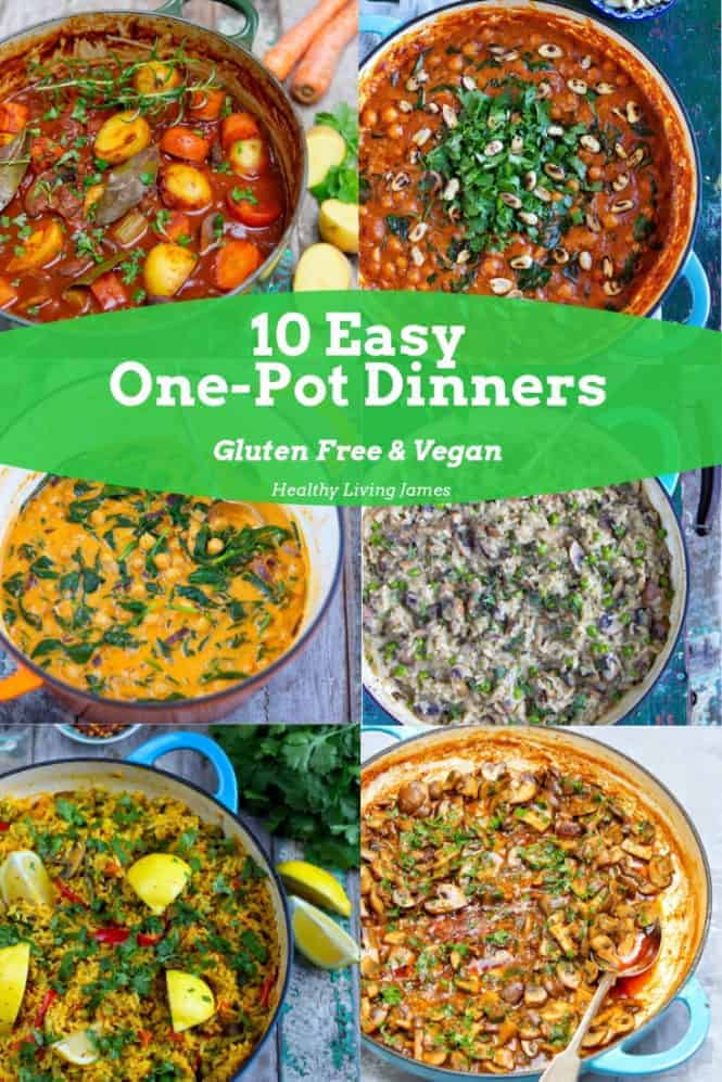 10 Easy One-Pot Dinners