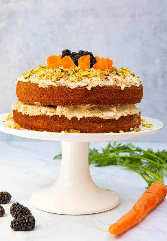 Gluten Free Vegan Carrot Cake