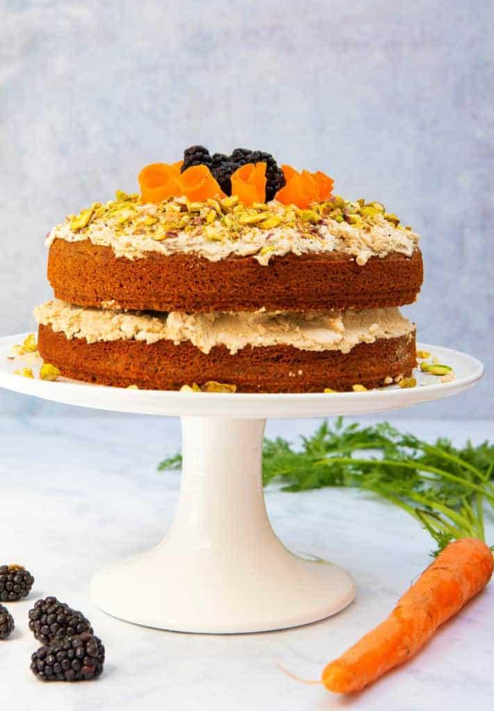 Gluten Free Vegan Carrot Cake Dairy And Egg Free Carrot Cake