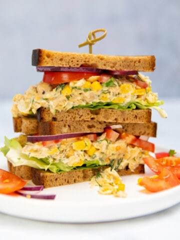 Chickpea Mayo - Sandwich