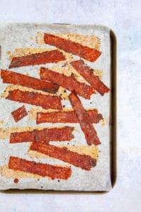 Crispy Rice Paper Bacon