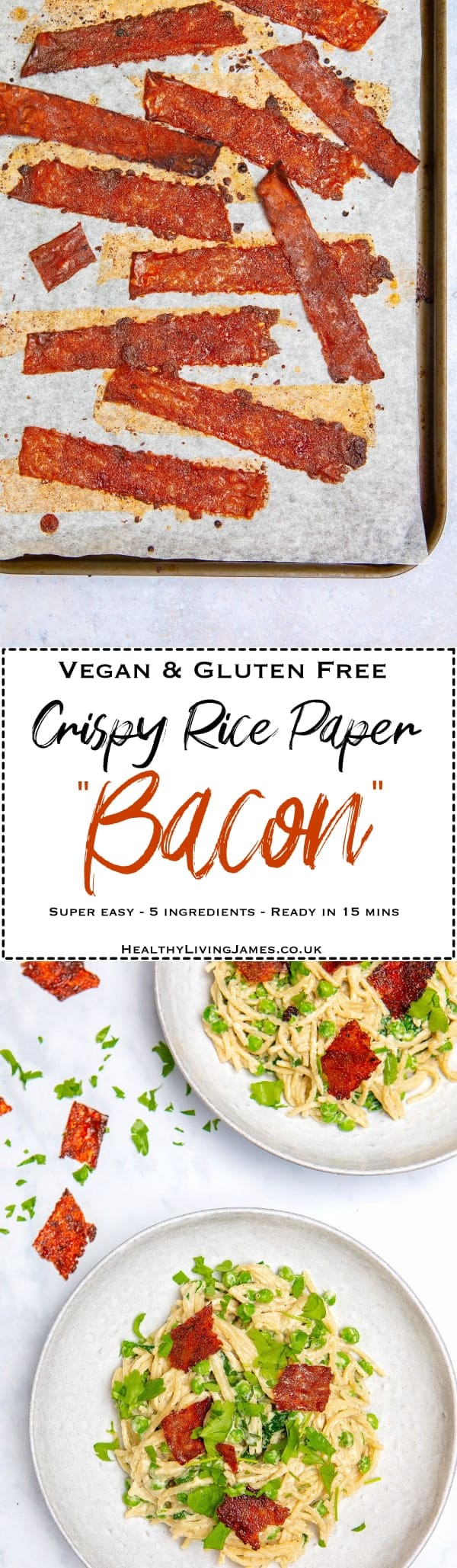 Crispy Rice Paper Bacon Pin