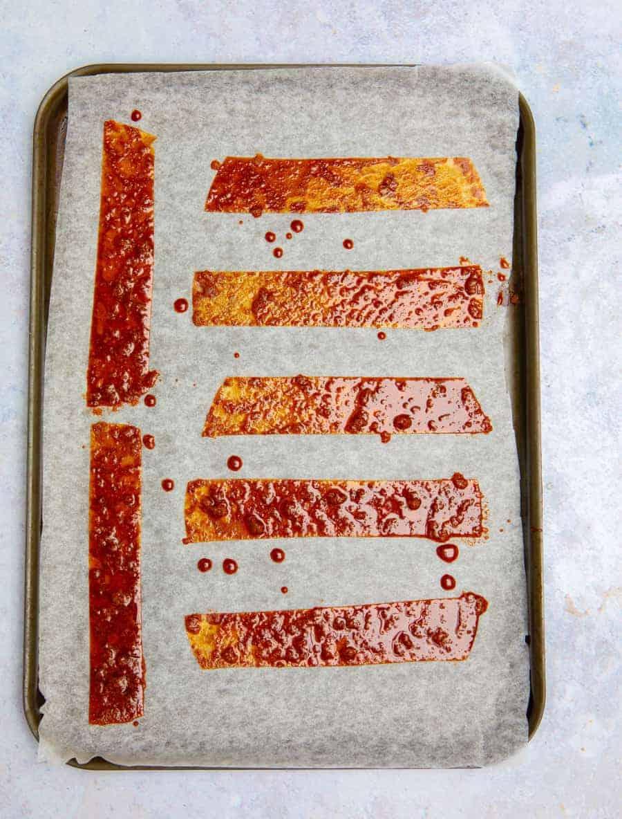 Crispy Rice Paper Bacon Pre-Oven