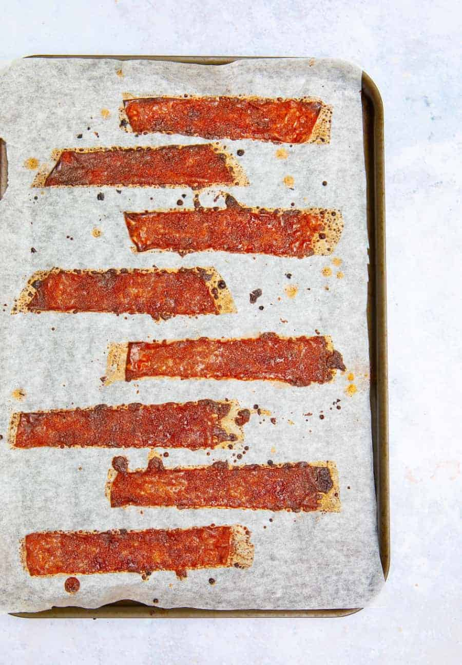 Crispy Rice Paper Bacon Tray