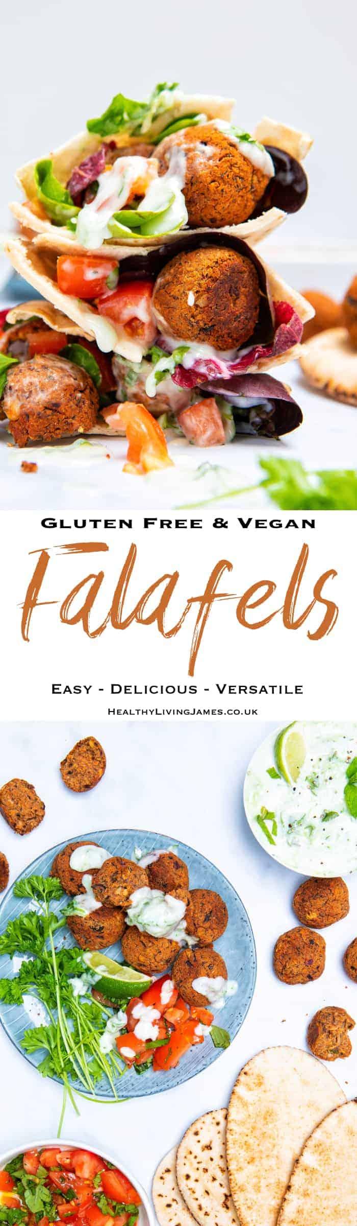 Gluten Free Falafels Pin