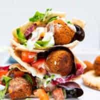 Gluten Free Falafels - Pitta