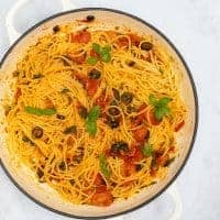 10 Minute Spicy Pasta Pot