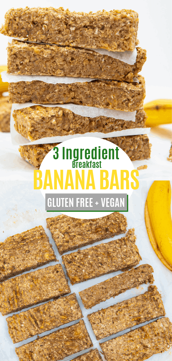 Breakfast Banana Bars Pin