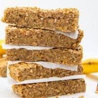 Breakfast Banana Bars Stacked