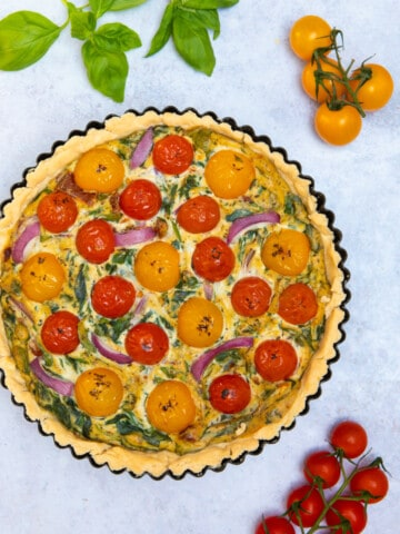Gluten Free & Vegan Quiche 2